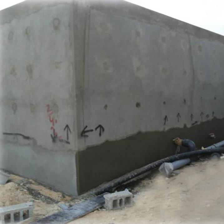 Heavy Construction - Concrete Water Tank 1,200 m3